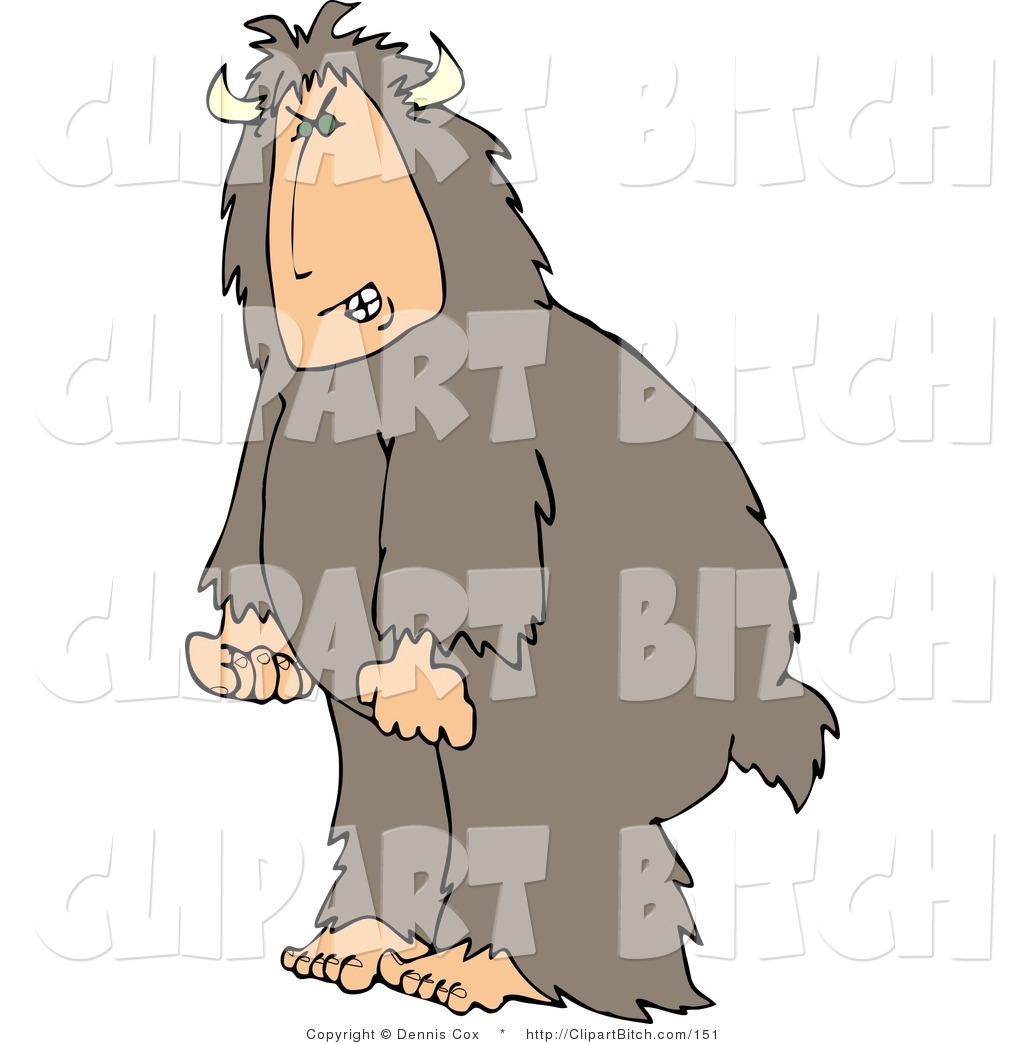 Yeti Clip Art http://identitymetrics.com/img/clip-art-bigfoot