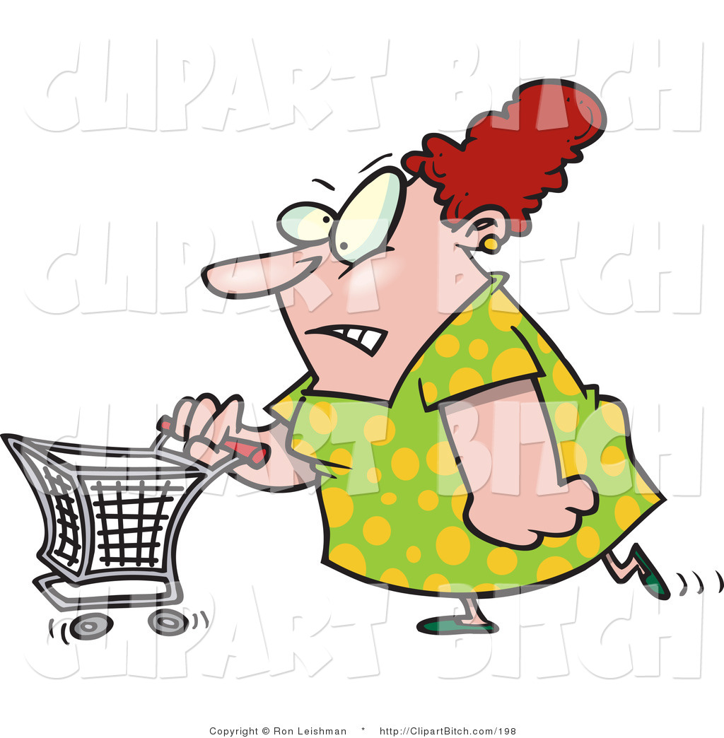 Image result for lady mad about shopping